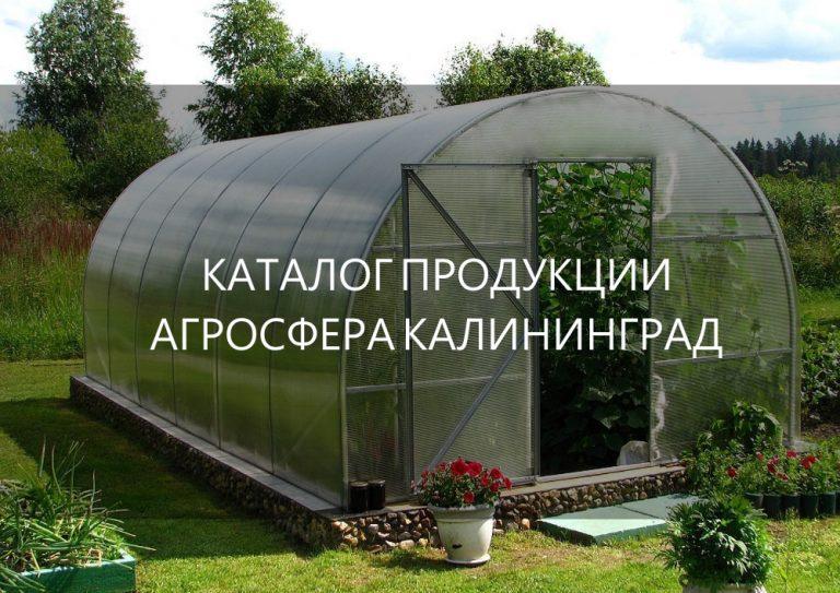 теплицы калининград официальный сайт